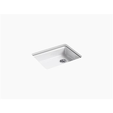"riverby® 25"" x 22"" x 5-7/8"" under-mount single-bowl kitchen sink"