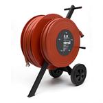 "wheeled hose reel 70m1"" 30m3/4"""