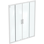 CONNECT 2 2SLIDER DOOR 160 UNHAND IC WHT CLEAR