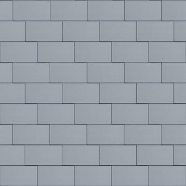 bardeaux façade (500 mm x 1000 mm, horizontal, prepatina clair)