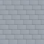 groot formaat losange (500 mm x 1000 mm, horizontaal, prepatina blue-grey)