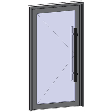 grand trafic doors - single outward opening