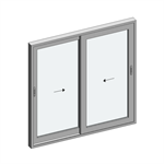 STRUGAL S110P Window (Two-Leaf)