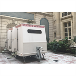 6-person construction trailer with shower