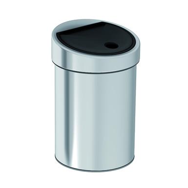 Chrome Abfallbehälter 9500499, 182 x 185 x 280 mm, Ø 182 mm