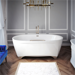 "Scala 72"" x 42"" x 25"" - Therapeutic Bath - Freestanding"
