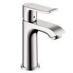 Metris Single lever basin mixer 100 for hand washbasins with pop-up waste set 31088001