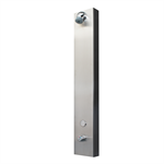 THERMOSTATIC PLP TOUCH®-STAINLESS STEEL-TOP INLET