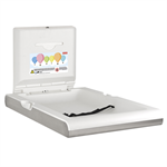cambrino vertical baby changing table camb22vs