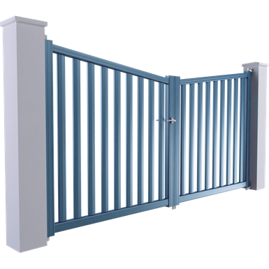 horizon line - valence swinging gate model
