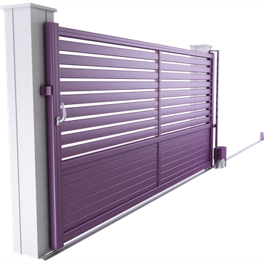harmony line - hawaï sliding gate model