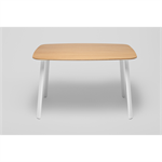 LTS System medium table with steel legs