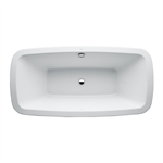 PALOMBA COLLECTION Bathtub, fitted version, without panel, 1800 x 900 mm