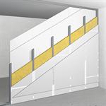 akp75/125; ei60; 55db; austria; single metal stud frame, double-layer cladding
