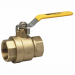 2-Piece, Full Port, Brass Ball Valves - FBV-4, FBVS-4