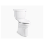 cimarron® comfort height® two-piece elongated 1.28 gpf chair height toilet with right-hand trip lever
