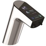 kontaktloser intellimix waschbeckenhahn mit integriertem seifenspender
