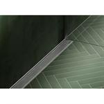 linear shower drain  - free in floor or wall application -modulo taf / taf wall