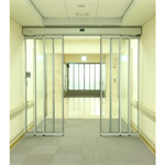 Automatic door - Telescopic BP with fixed leaves, full framed