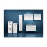 Bathroom Vanity unit Artic with one tap hole - 100 cm
