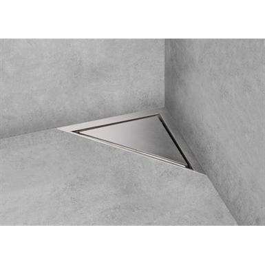 Triangular shaped shower drain - Aqua Jewels Delta