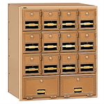 2000 Series Brass Mailboxes-Rear Loading