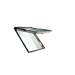 Roto top-hung roof window Designo R8 timber