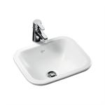concept cube 42cm under-countertop washbasin no tap deck