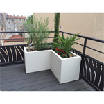 custom made angle planter ultra