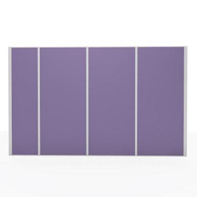 Aluminum partition - removable opaque partition