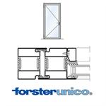 door forster unico, frame 50 mm, single leaf
