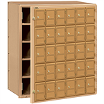2100 Series Americana Mailboxes-Front Loading