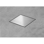 square shaped shower drain - aqua jewels quattro