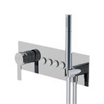 """pushtronic concealed single lever ¾"""" with 4-way diverter 390 2242"""