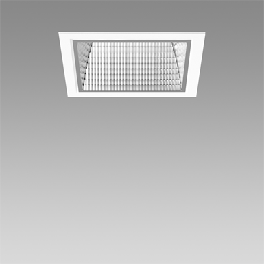 Echo Square LED Recessed Downlight 3000K L140 mm