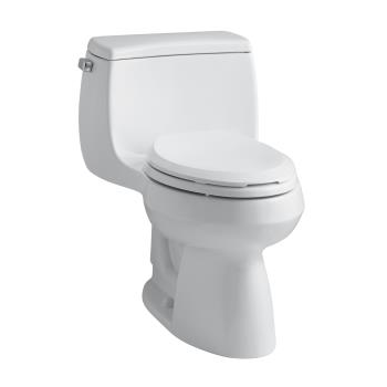 k-3615 gabrielle™ comfort height® one-piece compact elongated 1.28 gpf toilet