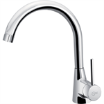 nora kitchen mixer one hole single lever hand, low pressure