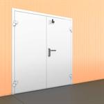 Технологическая двустворчатая дверь (ТДД)