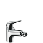 Novus Single lever bidet mixer 70 with 2 flow rates with pop-up waste set 71143000
