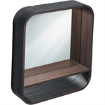 spiegel mit rahmen und licht 600 mm