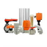 pvc-c electric ball valves