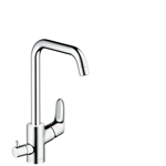 M414-H260 Single lever kitchen mixer with device shut-off valve 73884000