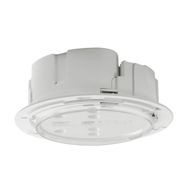 Self-contained emergency lighting autotest-addressable spotlight for ceilling