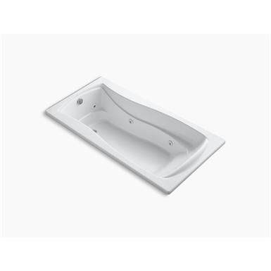 "k-1257-0 mariposa® 72"" x 36"" drop-in whirlpool with reversible drain"