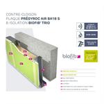 anti-voc lining walls - siniat pregymeal - bio-sourced insulation biofib