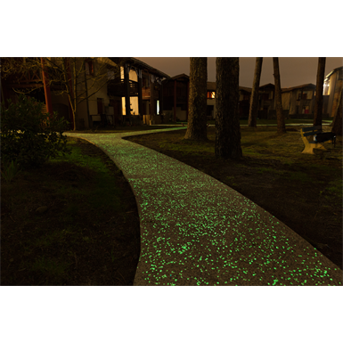 béton luminescent - lumintech® - jade