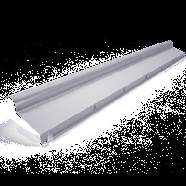 Half ridge with flange C2  model 45