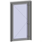 grand trafic doors - anti finger pinch version - single inward opening