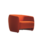 Plum lounge chair