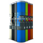 DELTA®-FASSADE COLOR - Membrane for façade designs with open joints 0.6 mm